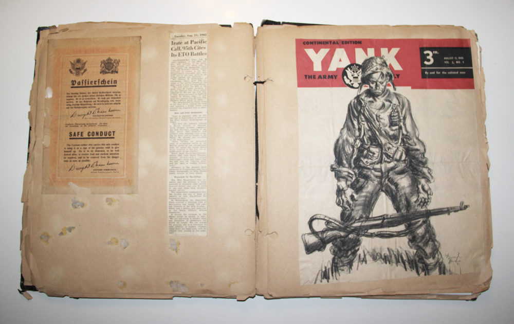 Scrapbook Ww2 Militaria